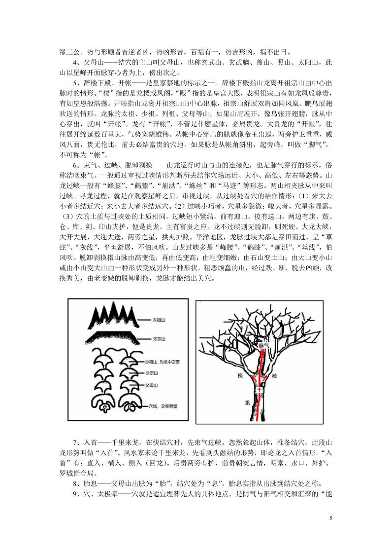 风水师手册《风水精断笔记》铁口直断真传